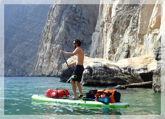 The Oman SUP Trip - Fool Moon SUP