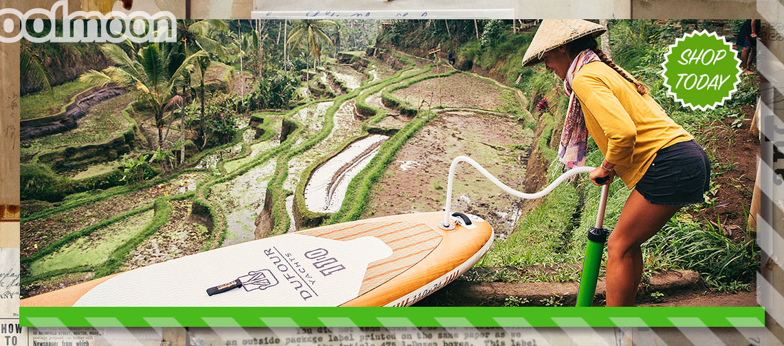 Ambre pumping board in Ubud
